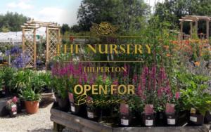 The Nursery Garden Centre Open for Business