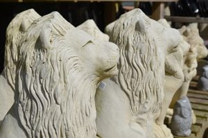The Nursery Garden Centre Lion Stoneware