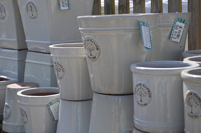 The Nursery Garden Centre Grey Pots